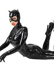 Women's With Mask Ds Custome Leather PVC Catsuit Fancy Dress Halloween/Christmas/New Year