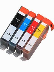 bloom®178bk / c / m / j compatibele inkt cartridge voor HP C6300 / C5300 / C5400 / 5510/6510/6520/7510 / b109a vol inkt (4 kleuren 1 set)