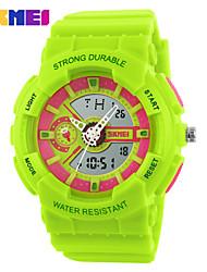 Sports Watch Kids' / Unisex LCD / Calendar / Chronograph / Water Resistant / Soloar / Sport Watch Digital Digital