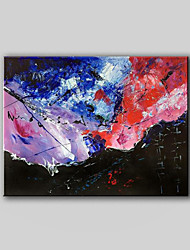 Hand-Painted Abstract Modern Oil Painting Without Any Frame, Canvas One Panel
