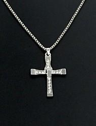 KAILA Women's Fashion Rhinestone Metal Pendant Necklace