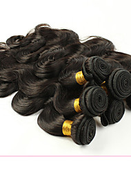 Peruvian Virgin Hair Body Wave 4 Bundles 7a Grade Unprocessed Virgin Human Hair Extensions Low Price Hot Sale.