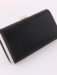 Women Bags All Seasons PU Evening Bag with for Wedding Event/Party Formal Office & Career Gold Black Silver Red Blue