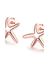 Platinum Plated Ladies' Earrings