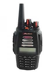 Anytone at-398uv handheld twee manier radio uv dual band 136-174MHz& 400-480mhz