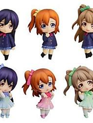 Aime la vie Niko Yazawa PVC One Size Figures Anime Action Jouets modèle Doll Toy