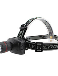 Lights Headlamps LED 800 Lumens 3 Mode LED AAAAdjustable Focus / Waterproof / Impact Resistant / Tactical / Emergency / Small Size /