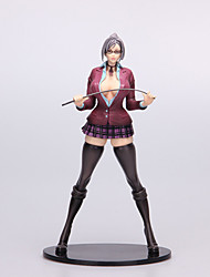 Animation project Prison Academy Vice President Shiraki Meiko Model 1PCS 28cm