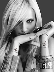 CJC-Tatuajes Adhesivos-Non Toxic / Modelo / Waterproof-Series de Animal-Mujer / Hombre / Adulto / Juventud-Multicolor-Papel-5-7*10*1cm-027