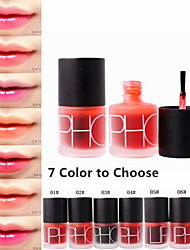 2in1 Magic Lip Tint Stain Dyeing Liquid Lip Plumper Gloss&Cheek Blusher Nature Long Lasting Moisturizing Matte by Liphop