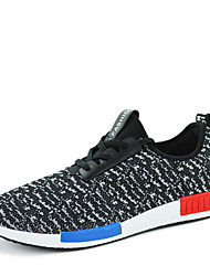 Sapatos Corrida Masculino Preto / Vermelho / Cinza Tule
