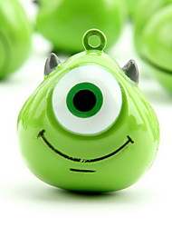 One-eyed Monster Cartoon Pure Copper Pet Pendant Bell(1 PCS 3cm)