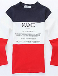 Girl's Print Tee,Cotton Winter / Spring Red