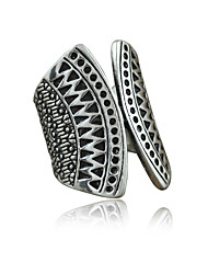 Ring Women's / Unisex Non Stone Alloy Alloy 8 SilverColor & Style representation may vary by monitor. Not responsible for typographical