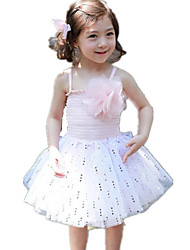 Girl's Sequins Tulle Sundresses Tutu Dress