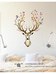 Animals / Still Life / Florals Wall Stickers Plane Wall Stickers,pvc 60*90cm