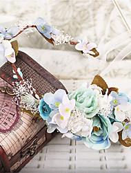 Femme Tissu Casque-Mariage Occasion spéciale Extérieur Couronnes 1 Pièce