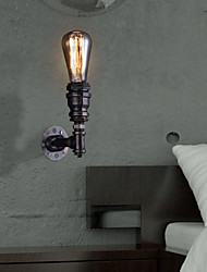 Retro Metal Bedsides Wall Sconce Village Pastoral Living Room Wall Lights Dining Room Wall Lamp