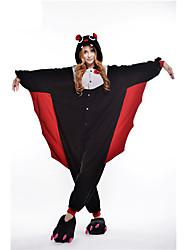 Kigurumi Pijamas nueva Cosplay® / Murciélago Leotardo/Pijama Mono Festival/Celebración Ropa de Noche de los Animales Halloween Negro