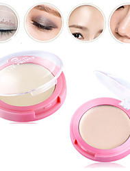 1 Highlighters/Bronzers Dry Pressed powderSun Protection / Coverage / Whitening / Long Lasting / Concealer / Uneven Skin Tone / Natural /