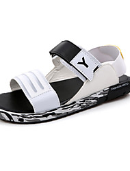 Men Sandals Slippers Leather Male Summer Shoes Outdoor Casual Leather Sandals