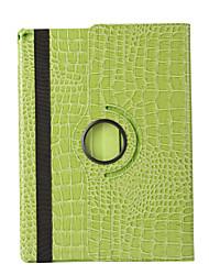360 градусов крокодил картина искусственная кожа флип чехол чехол для IPad мини 3/2/1 (разных цветов)