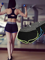 Running Shorts / Bottoms Women's Breathable / Quick Dry Yoga / Exercise & Fitness / Leisure Sports / Running Sports High Elasticity Slim