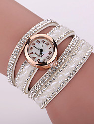 Xu™ Ladies' Fashion Diamonds Bracelet Quartz Watch