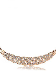Cute / Party / Work / Casual Gold Plated / Cubic Zirconia Pendant Necklace