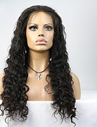 8''-24'' Brazilian Virgin Water Wave Full Lace Human Hair Wigs Lace Front Wigs For Black Women