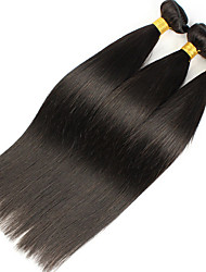 1Bundles 8-26inch Brazilian Virgin Hair Straight Hair Color 1B# Unprocessed Raw Virgin Human Hair Weaves