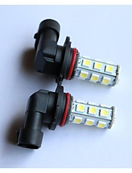 H1/H3/H4/H7/H8/H11/9005/9006 5050-18SMD   Car Fog Light White Blue Red Yellow