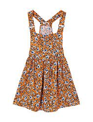 Meters/bonwe Women's Strap Sleeveless Above Knee Dress-233094