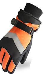 Unisex Handschuhe Freizeit Sport warm halten / tragbar / Antirutsch Frühling / Herbst / Winter Orange-Sport-L / XL