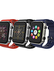 écran tactile v8 intelligente montre mobile intelligent compagnon de téléphone pour iphone ios samsung android