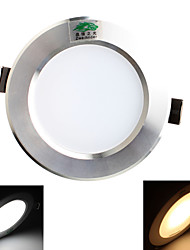 5W Plafonniers 10 SMD 5730 450 lm Blanc Chaud / Blanc Naturel Décorative AC 85-265 V 1 pièce