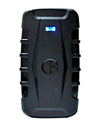 coche de la llegada de los gps perseguidor 1w mah impermeable, seguimiento gsm vehical rastreador fuerte tiempo de espera magnética 1 año