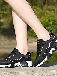 Scarpe Sneakers Da donna Tulle Nero / Rosa / Viola