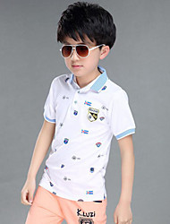 Boy's Cotton Tee,Summer Short Sleeve