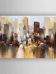 Dipinta a mano Paesaggi / Paesaggi astrattiModern Un Pannello Tela Hang-Dipinto ad olio For Decorazioni per la casa