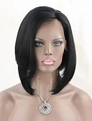 Layered Human Hair Short Lace Front Bob Wigs For Black Women Glueless Full Lace Human Hair Bob Wig