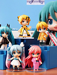 Hatsune Miku Anime Action Figure 6.5CM Model Toys Doll Toy