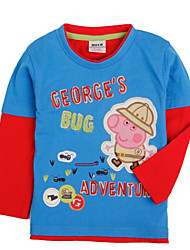 Boy's Cotton Tee,Winter Long Sleeve