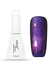 Azure Beauty 3D Colorful Phantom Nail Gel Polish Chameleon Gel and Black Coat UV Gel Polish