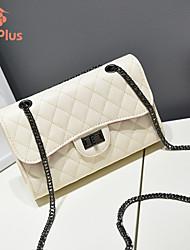 M.Plus® Women's Fashion Plaid PU Leather Shoulder Bag