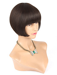 Machine Made Wigs Natural Color Human Hair Wigs BOB Hair Style Remy Hair Wigs Cheap Wigs