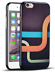 caso del iphone conducto curvado protectora suave de la contraportada para el iphone 6s / iPhone 6
