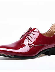 Men's Wedding Shoes Nail Casual Leather Oxfords Business Shoes