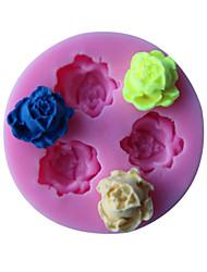 Three Flower Shape Cake Border Fondant Cake Molds Soap Chocolate Mould The Kitchen