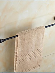 Antique Black Brass Bathroom Towel Rack